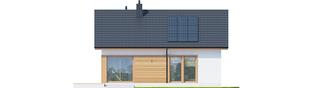 Projekt domu Elmo ECONOMIC - elewacja tylna