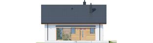 Projekt domu Elmo ECONOMIC - elewacja frontowa