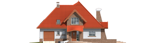 Projekt domu Melania G1 - elewacja frontowa