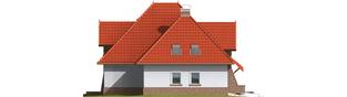 Projekt domu Melania G1 - elewacja lewa