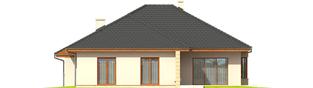 Projekt domu Kornelia III G2 - elewacja tylna