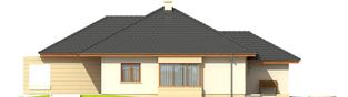 Projekt domu Kornelia III G2 - elewacja lewa
