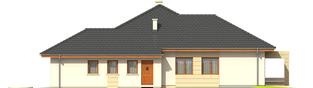 Projekt domu Kornelia III G2 - elewacja prawa