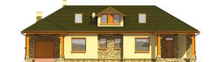 Projekt domu Milenka G1 - elewacja frontowa