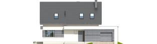 Projekt domu Patryk III G1 - elewacja frontowa