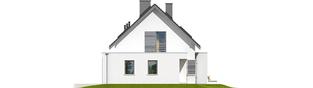 Projekt domu Patryk III G1 - elewacja prawa