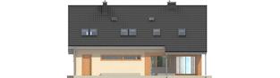 Projekt domu Amber G1 - elewacja tylna