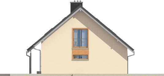 Amber G1 - Projekty domów ARCHIPELAG - Amber G1 - elewacja prawa