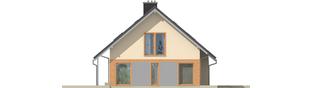 Projekt domu Amber G1 - elewacja lewa