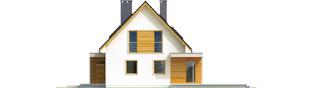 Projekt domu Nikodem G1 - elewacja prawa