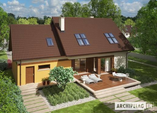 House plan - Marcin III G2 Mocca