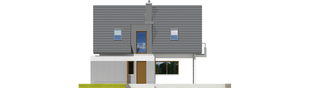 Projekt domu Julek G1 - elewacja prawa