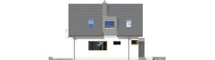 Projekt domu Julek G1 - elewacja lewa
