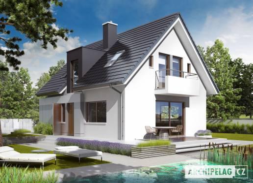 Projekt rodinného domu - Jonáš G1