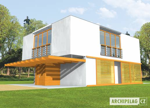Projekt rodinného domu - Mac