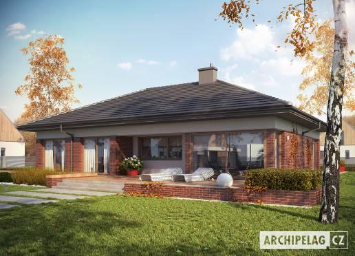 Projekt rodinného domu - Dominik G2