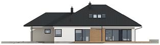 Projekt domu Tanita II G2 - elewacja prawa