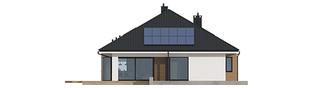 Projekt domu Tanita II G2 - elewacja tylna