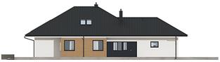 Projekt domu Tanita II G2 - elewacja lewa