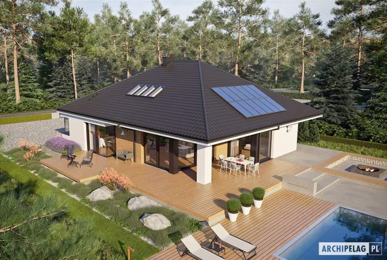 Projekt domu Tanita II G2 - widok z góry