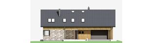 Projekt domu Nikolas G2 - elewacja frontowa