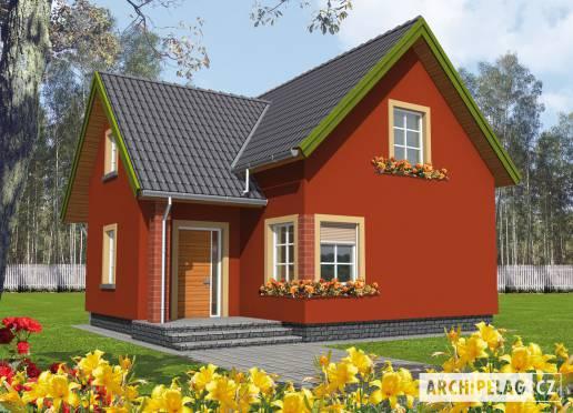Projekt rodinného domu - Malvínka