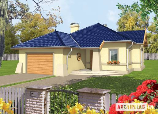 House plan - Afrodyte