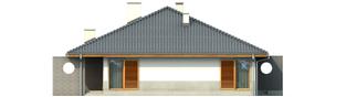 Projekt domu Florenc - elewacja lewa