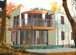 Projekt rodinného domu: Leoš