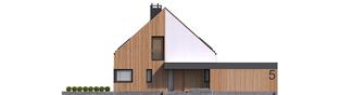 Projekt domu Daniel V G2 ENERGO PLUS - elewacja frontowa