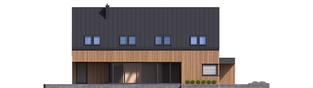 Projekt domu Daniel V G2 ENERGO PLUS - elewacja lewa