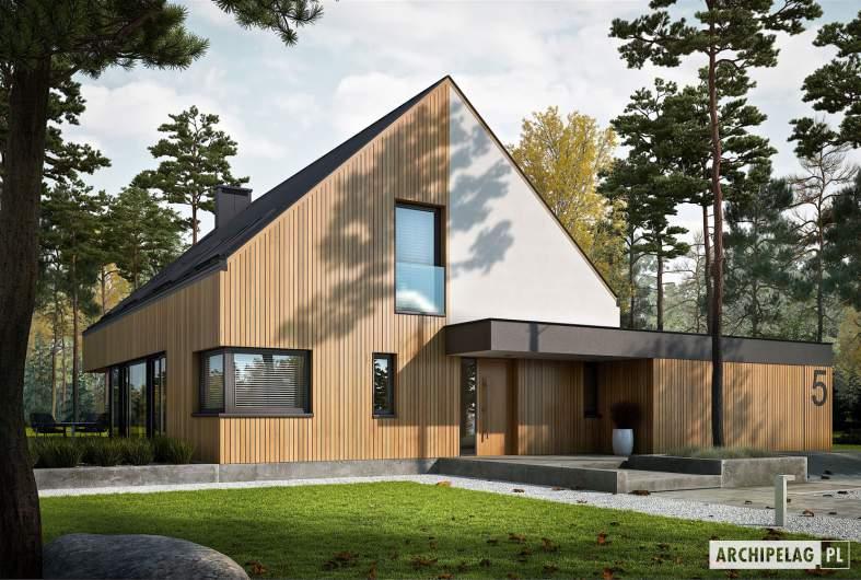 Projekt domu Daniel V G2 ENERGO PLUS - wizualizacja frontowa