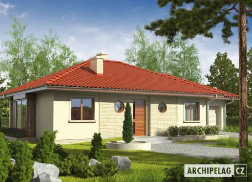 Projekt rodinného domu - Margo G1