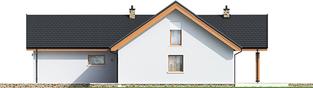 Projekt domu Simon (mały) G2 - elewacja prawa
