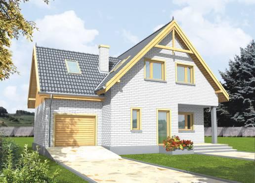 Mājas projekts - Sniezka (ar garāžu)