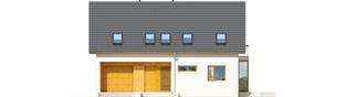 Projekt domu Pablo II G1 MULTI-COMFORT - elewacja frontowa