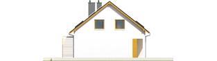 Projekt domu Pablo II G1 MULTI-COMFORT - elewacja lewa