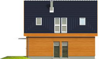 Fabricia II G2 - Projekt domu Fabrycja II G2 - elewacja lewa