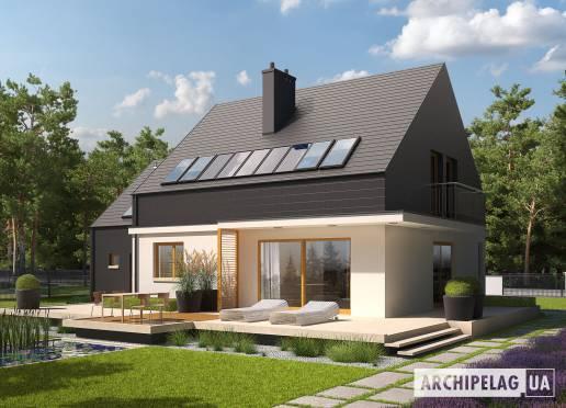 Проект будинку - Е5 (Г1, Економ, версія Б)