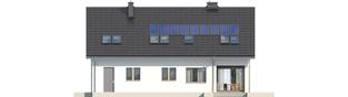 Projekt domu Liv 5 G1 - elewacja tylna