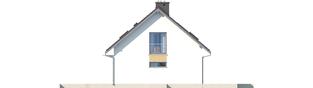 Projekt domu Liv 5 G1 - elewacja prawa