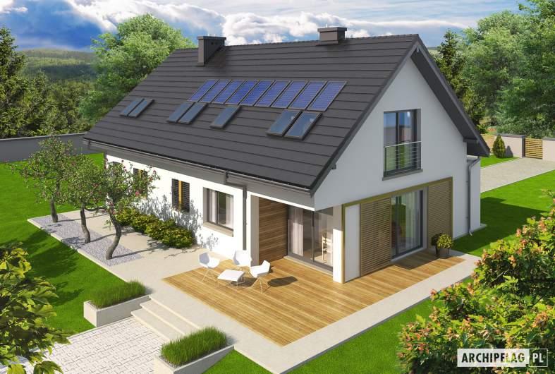 Projekt domu Liv 5 G1 - widok z góry
