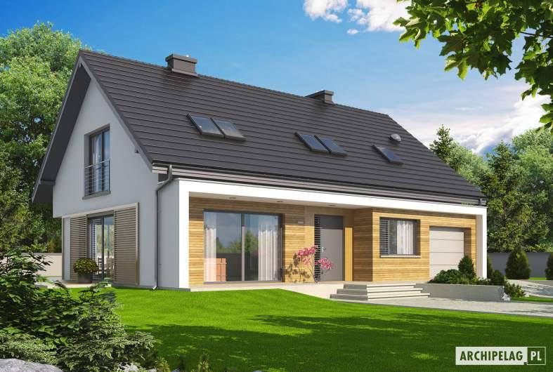 Projekt domu Liv 5 G1 - wizualizacja frontowa
