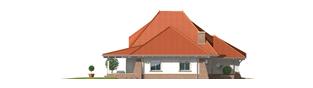 Projekt domu Kora G2 - elewacja lewa