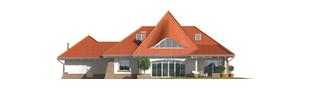 Projekt domu Kora G2 - elewacja tylna