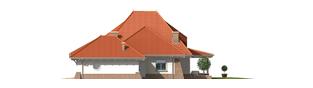 Projekt domu Kora G2 - elewacja prawa