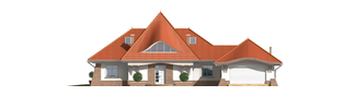 Projekt domu Kora G2 - elewacja frontowa