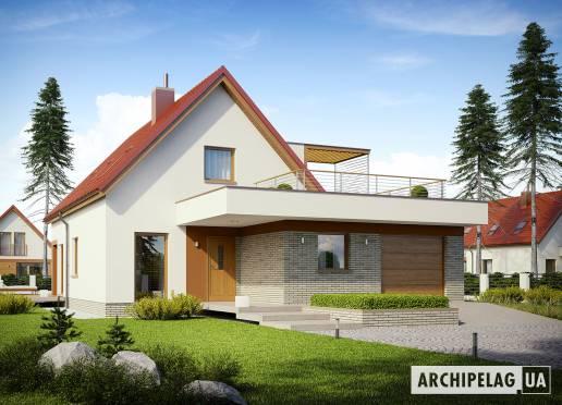 Проект будинку - Е13 ІІ (Г1, Економ) *