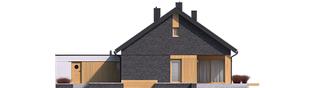 Projekt domu Daniel IV G2 - elewacja tylna