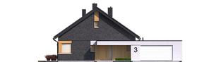 Projekt domu Daniel IV G2 - elewacja frontowa
